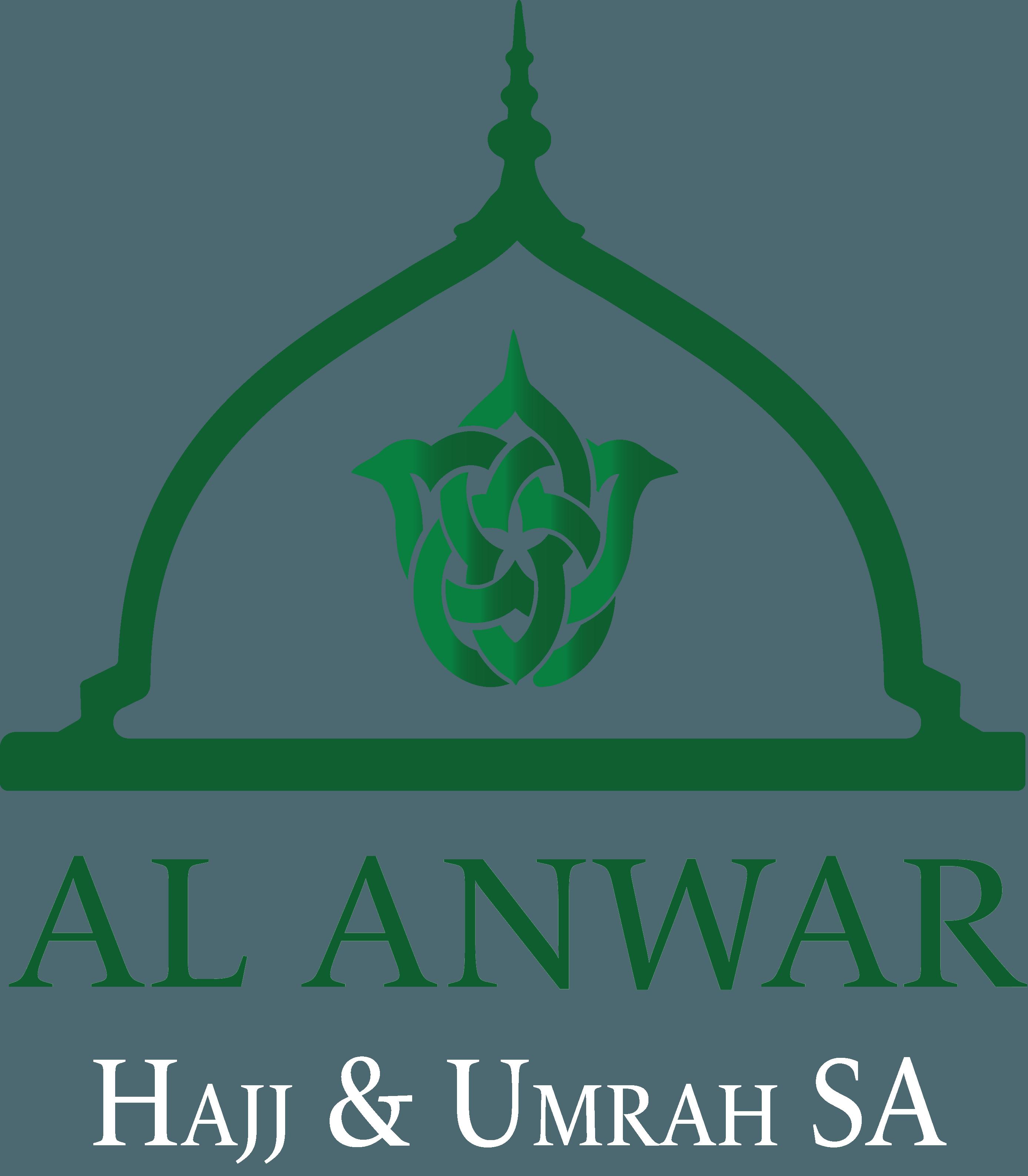 Al Anwar Logo White
